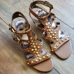 Lovely cute studded Guess sandals